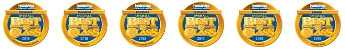 FE&S Magazine recognized Manitowoc Foodservice with 2015 Industry Overall Best in Class Awards
