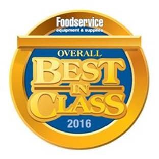 "FE&S Magazine recognized Manitowoc Foodservice in Six Categories for 2016 ""Best In Class"""